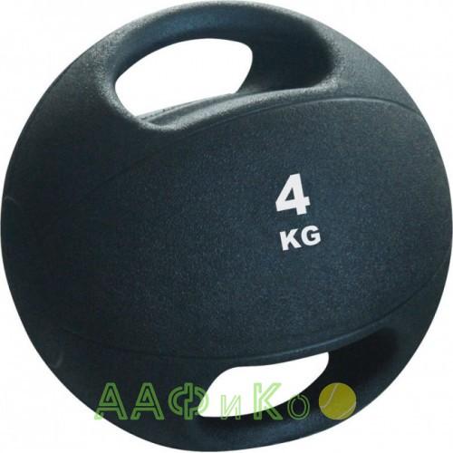 Мяч набивной медицинбол Medicine Ball с ручками 4кг