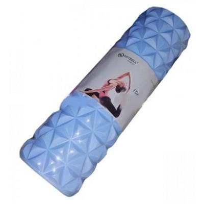 Ролик для йоги (массажный) ARTBELL 45см x 15см, голубой (арт. YG82203)