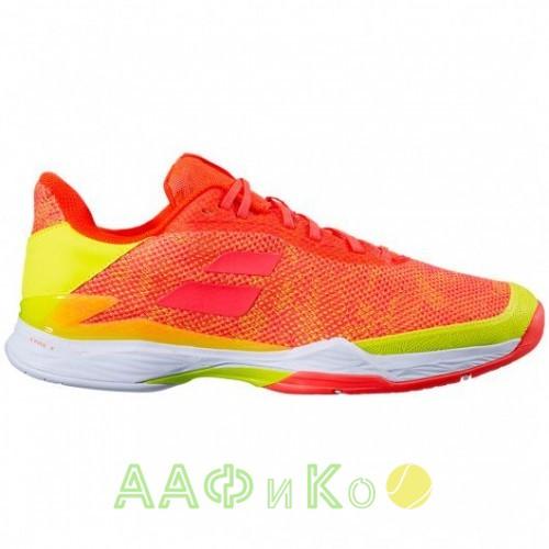 Кроссовки теннисные Babolat JET TERE ALL COURT MEN (оранжевый/желтый)