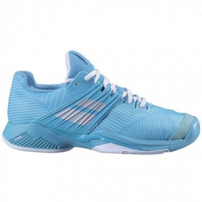 Кроссовки теннисные Babolat  PROPULSE FURY AC WOMEN (голубой)