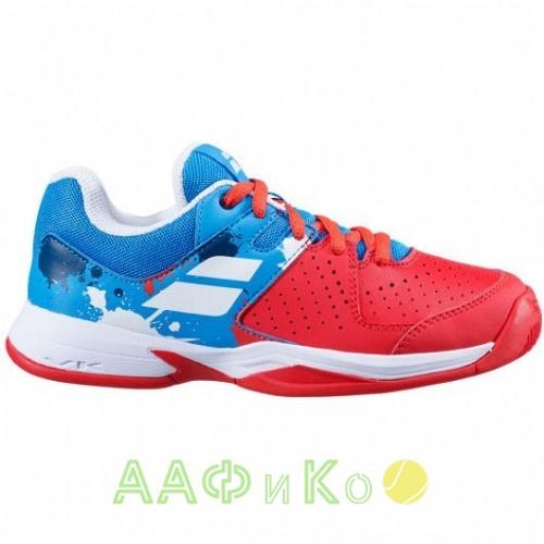 Кроссовки теннисные Babolat PULSION ALL COURT JR (красный/синий)