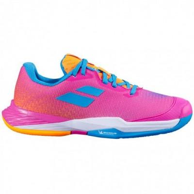 Кроссовки теннисные Babolat  JET MACH 3 CLAY JUNIOR (розовый)