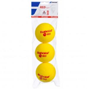Мячи  теннисные  Babolat RED FOAM X3  3шт/уп