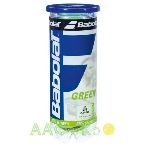 Мячи  теннисные  Babolat Green  3 шт/уп