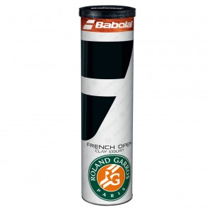 Мячи  теннисные Babolat Ball Roland Garros French Open Clay Court  4 шт/уп