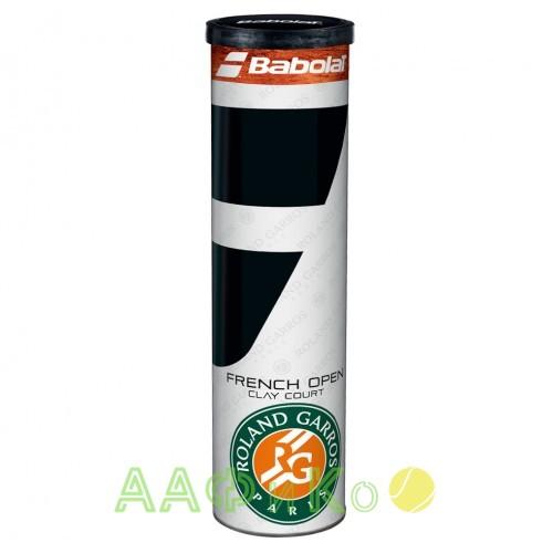 Мячи  теннисные Babolat Ball Roland Garros French Open Clay Court  4 шт/уп