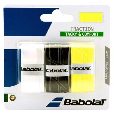 Намотка для теннисных ракеток Babolat TRACTION (653043-134)