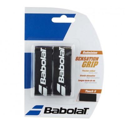 Намотка для бадминтонных ракеток Babolat GRIP SENSATION (чёрный) 2 шт. (670064-105)