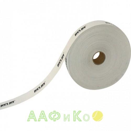 Защитная лента  Pro s pro Kopfschutzband 2.5см 50м белая
