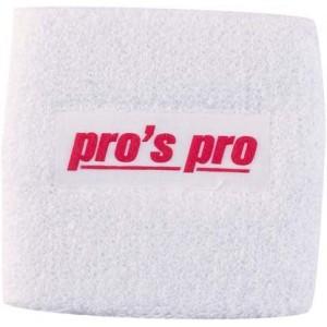Напульсники для удаления пота Pros Pro белые