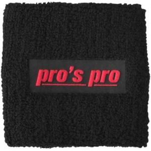 Напульсники для удаления пота Pros Pro черные