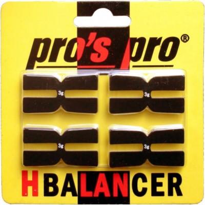 Балансир для ракетки pros pro H-Balancer 4шт черные
