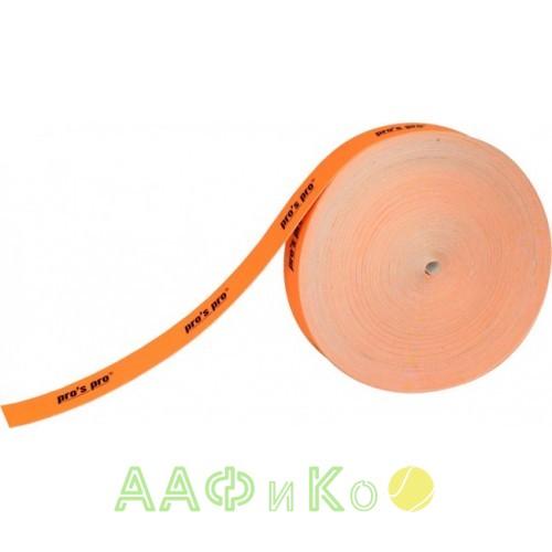 Защитная лента  Pro s pro Kopfschutzband 3см 50м  neon-orange