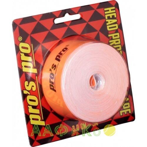 Защитная лента  Pro s pro Kopfschutzband 3см 5м  neon-orange