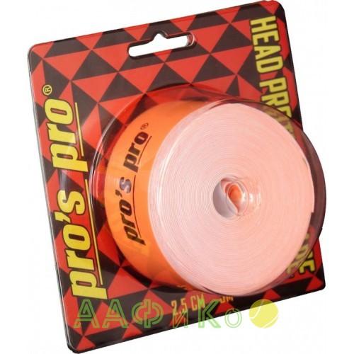 Защитная лента  Pro s pro Kopfschutzband 2.5см 5м  neon-orange
