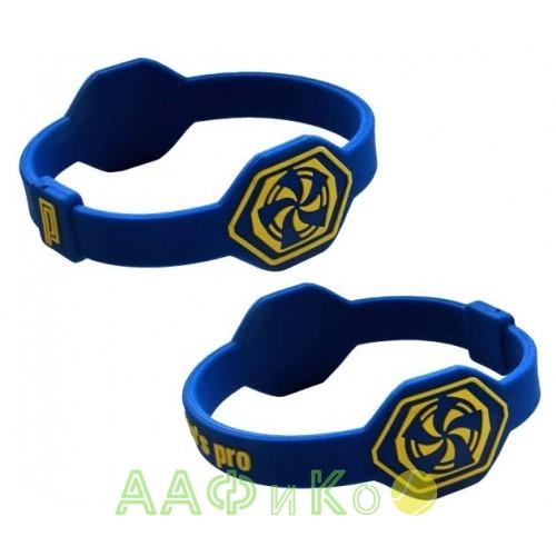 Браслет энергетический Power Band No. 1 сине-желтый