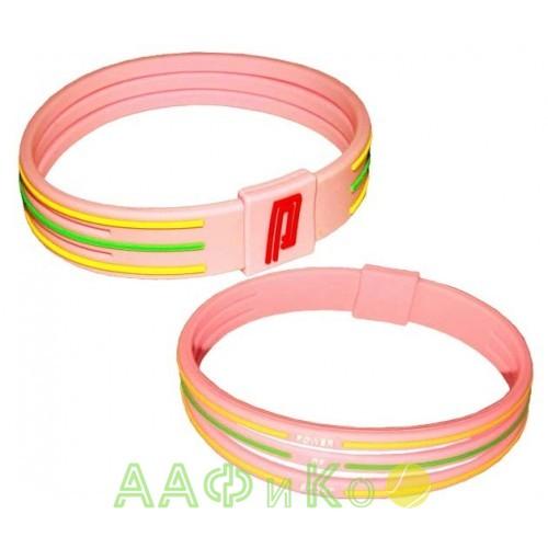 Браслет энергетический Power Band No. 3 розовый