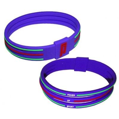Браслет энергетический Power Band No 3 фиолетовый