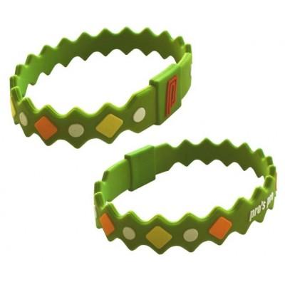 Браслет энергетический Power Band No. 2 зеленый