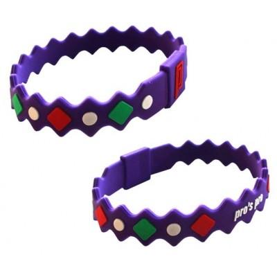 Браслет энергетический Power Band No. 2 фиолетовый