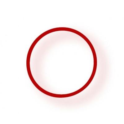 Браслет энергетический Power Band No.4 SMALL красный
