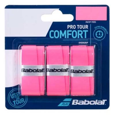 Намотка для теннисных ракеток Babolat PRO TOUR X3 (розовый) 3шт.