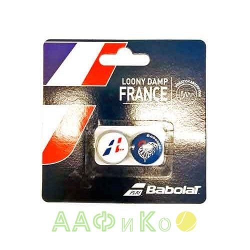 Виброгаситель Babolat LOONY DAMP FRANCE X2 (кантри) 2 шт.