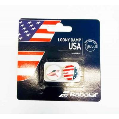 Виброгаситель Babolat LOONY USA X2 (кантри) 2 шт.