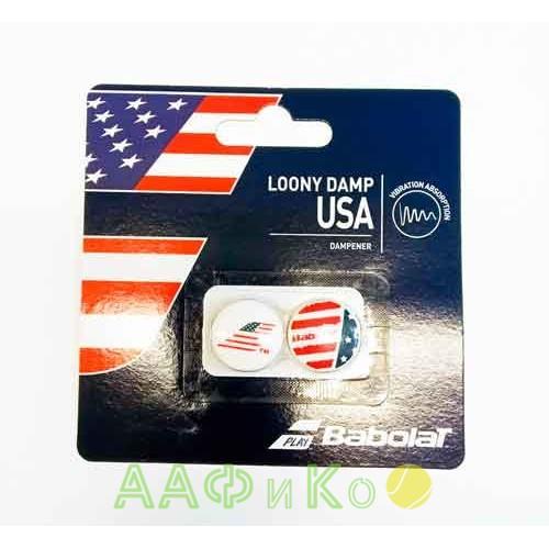 Виброгаситель Babolat LOONY DAMP USA X2 (кантри) 2 шт.