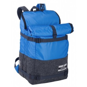 Рюкзак-сумка для теннисных ракеток  Babolat BACKPACK 3+3 EVO (синий/серый)