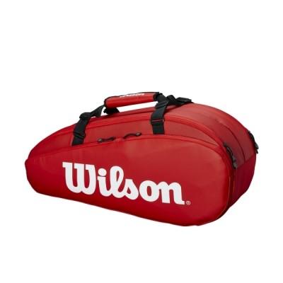 Чехол-сумка для ракеток Wilson Tour 2 Comp Small 6 Pack (красный)