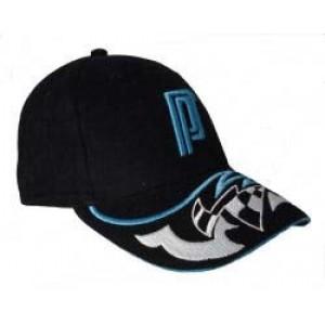 Кепка теннисная Pros Pro Kappe R004 черно голубая