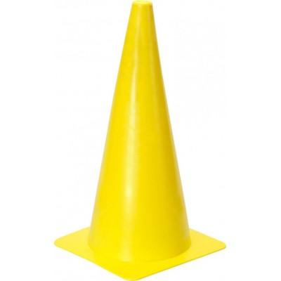 """Конус маркировочный 15 """"(38 см) желтый - пилоны"""