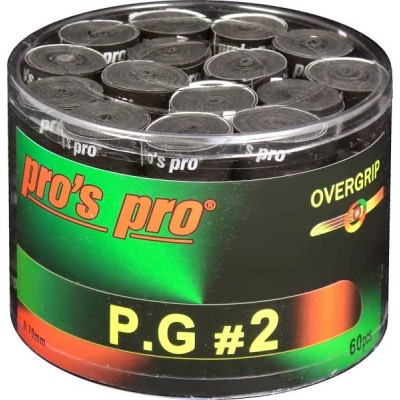 Намотка Pros Pro P.G. 2 60шт/уп черные