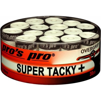 Намотка Pros Pro SUPER TACKY PLUS 30шт/уп белые