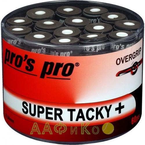 Намотка Pros Pro SUPER TACKY PLUS 60 шт/уп черные