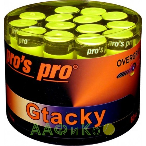 Намотка Pros Pro Gtacky 60шт/уп lime