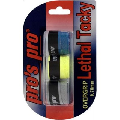 Намотка Pros Pro Lethal Tacky 3шт/уп цветные