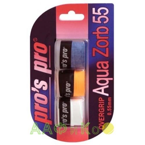 Намотка Pros Pro Aqua Zorb 55 3шт/уп цветные
