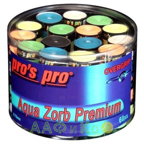 Намотка Pros Pro Aqua Zorb Premium 60шт/уп цветные