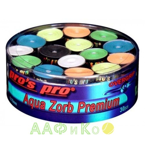 Намотка Pros Pro Aqua Zorb Premium 30 шт/уп разноцветные