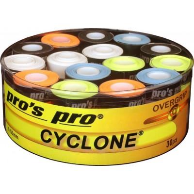 Намотка Pros Pro Cyclone Grip 30шт разноцветные