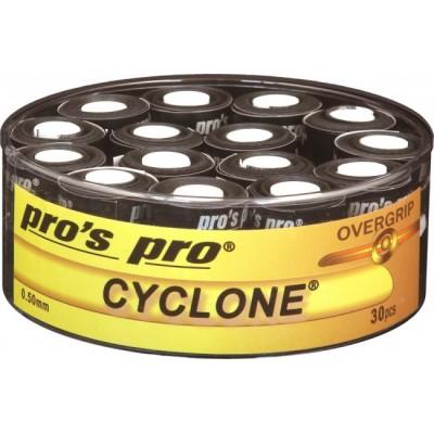 Намотка Pros Pro Cyclone Grip 30 шт/уп черные