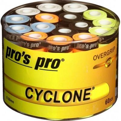 Намотка Pros Pro Cyclone Grip 60 шт/уп разноцветные