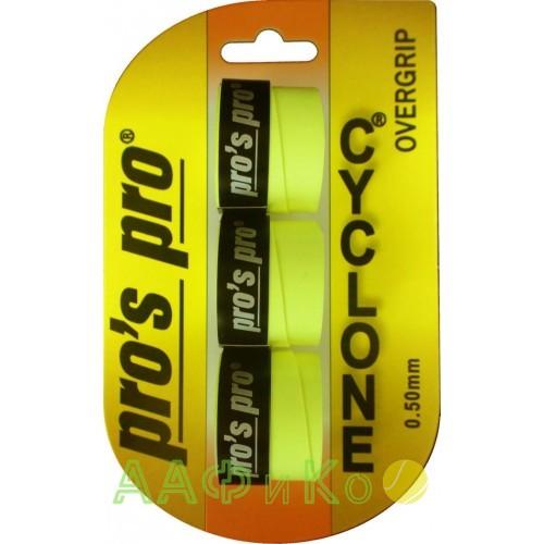 Намотка Pros Pro Cyclone Grip 3шт/уп lime