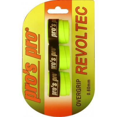 Намотка Pros Pro Revoltec Grip 3шт/уп lime