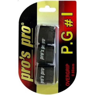 Намотка Pros Pro P.G. 1 3шт/уп черные