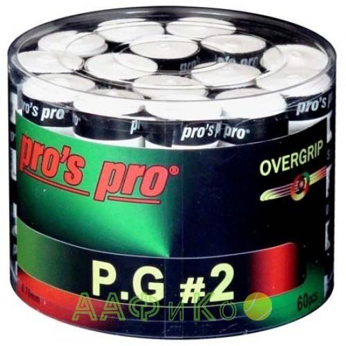 Намотка Pros Pro P.G. 2 60шт/уп белые