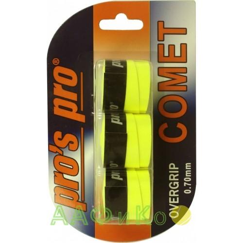 Намотка Pros Pro Comet Grip 3шт/уп lime