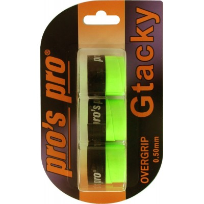 Намотка Pros Pro Gtacky 3шт/уп neon-зеленый